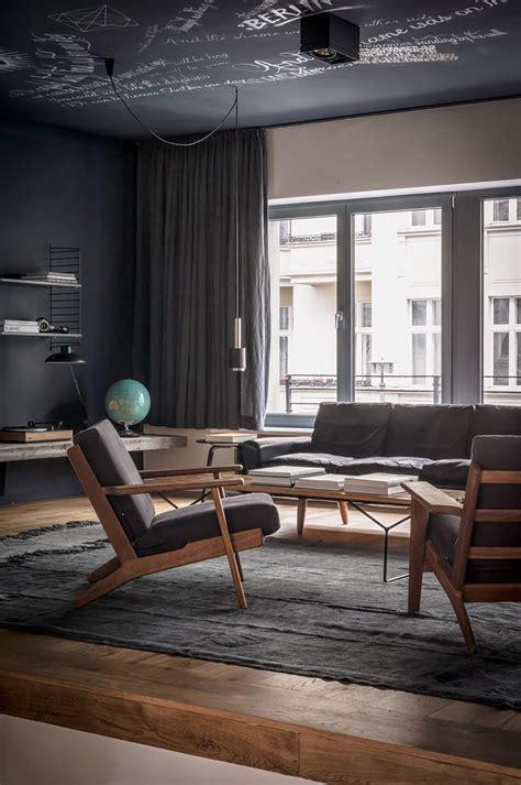 dark interior design 4 beautiful dark themed homes