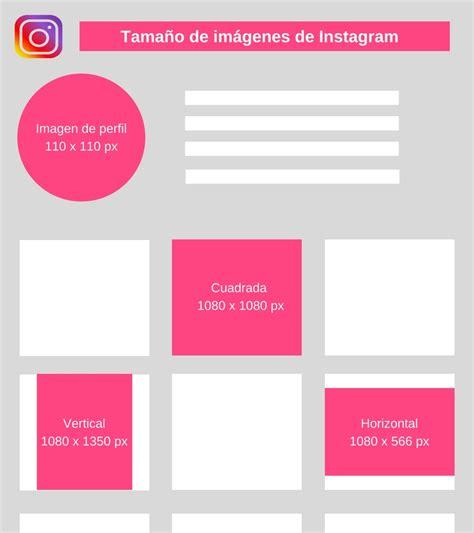 imagenes de redes sociales instagram redes sociales 2018 conoce el tama 241 o perfecto para las