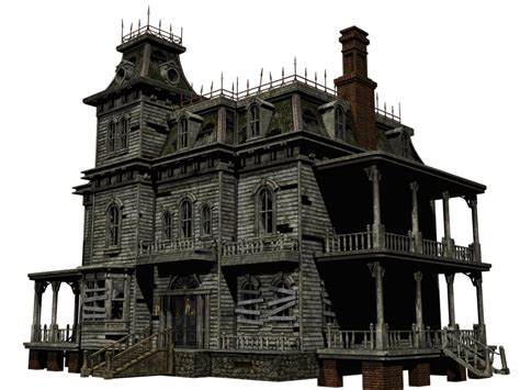 haunted house 2 doll clip haunted house transparent png stickpng