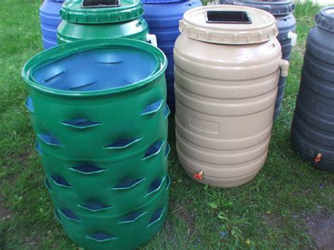 Plastic Barrel Strawberry Planter by 55 Gallon Plastic Drum Planter Design Bild