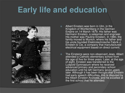 albert einstein early childhood biography albert einstein