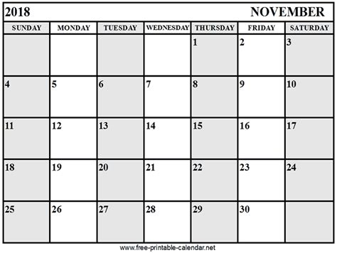 printable calendar november 2018 calendar november 2018 download print calendars from