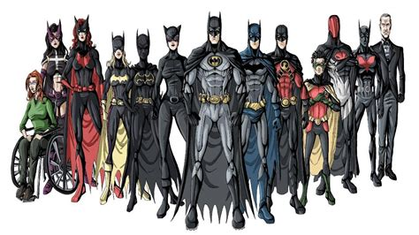 Batman Family batman family wallpaper wallpapersafari