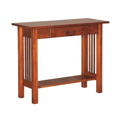 mission console table mission console table amish mission console table