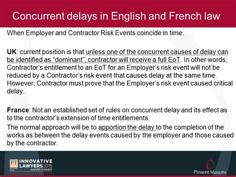 delay claims in construction disputes ppt