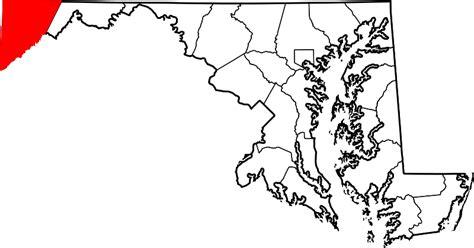 maryland dot map garrett html