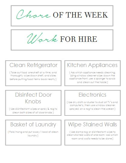 Free Printables Home Made By Carmona Work For Hire Template