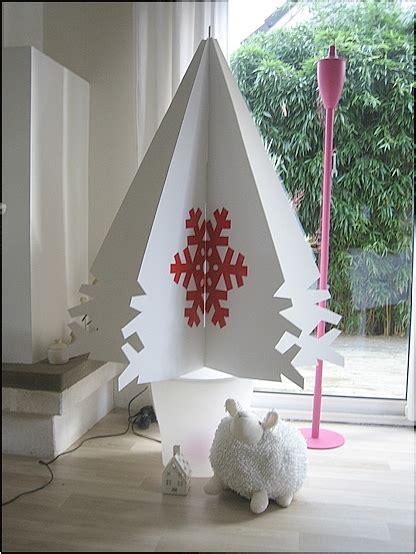 Ordinaire Decoration De Sapin De Noel Maison #4: sapin-carton-scandinave-fait-maison.jpg