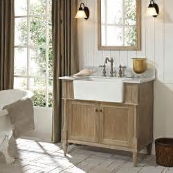 Farmhouse Vanity Bathroom Fairmont Designs Rustic Chic 36 Quot Farmhouse Vanity 142 Fv36 Bath Vanity From Home