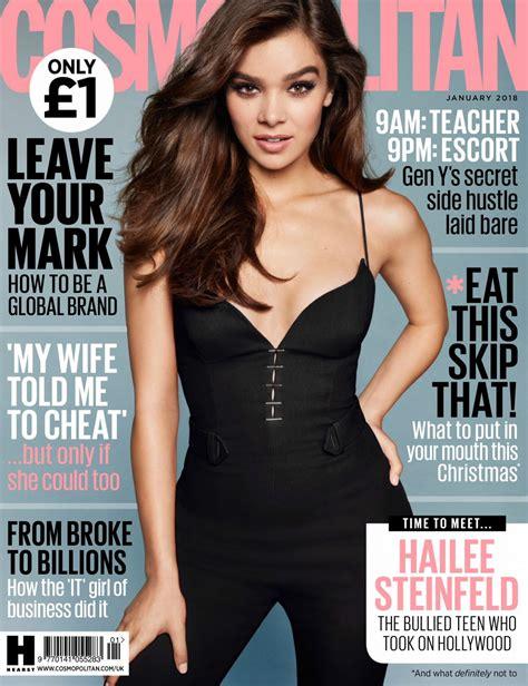 cosmopolitan magazine hailee steinfeld in cosmopolitan magazine uk january 2018