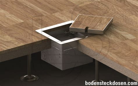 hollow space floor box systems