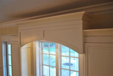 cabinet cornice kitchen window cabinet valance our custom shop made this
