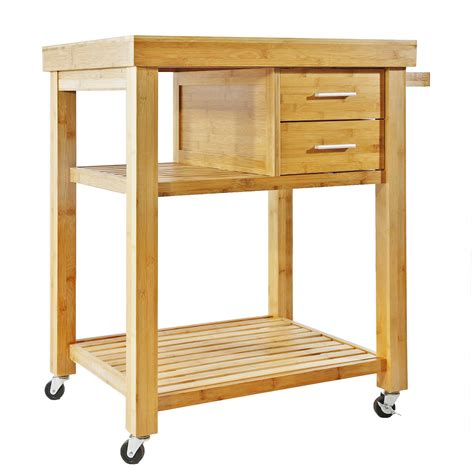 kitchen portable kitchen island wood table white drawer