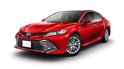 toyota camryu japanese 2018 toyota camry debuts trd and modellista trims