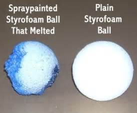 how to color styrofoam how to paint styrofoam thriftyfun