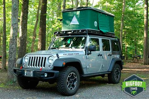roof top tent jeep roof top tents by bigfoot cing on a higher level