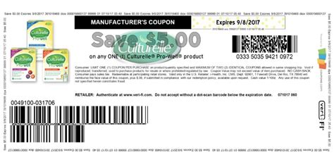 high   culturelle coupon print todayliving rich  coupons