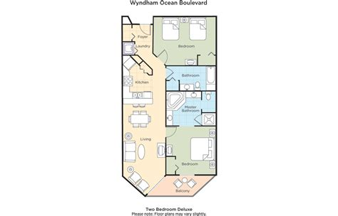 10 Park Blvd Floor Plan by Wyndham Boulevard