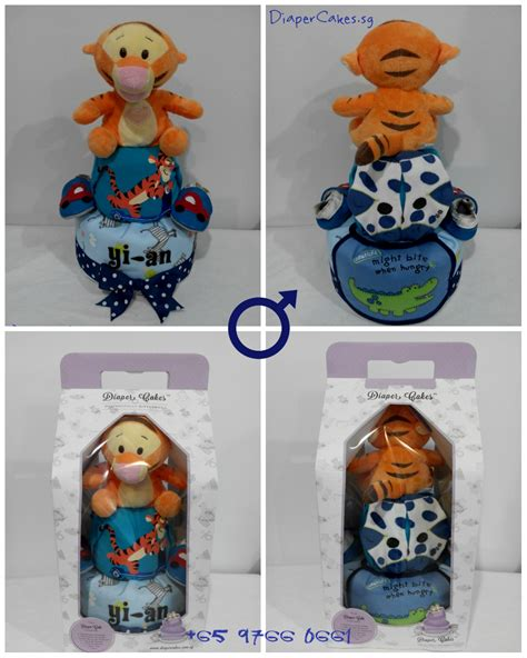 Baby Gifts For Tiger And Kevin by Limited 2 Tier Handsome Tigger Cake For Baby Yi An