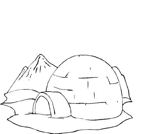 igloo coloring page preschool igloo coloring page purple kitty