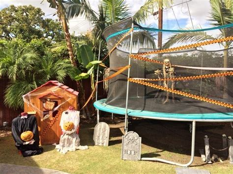 backyard halloween party scary outdoor halloween party decorating ideas diy inspired