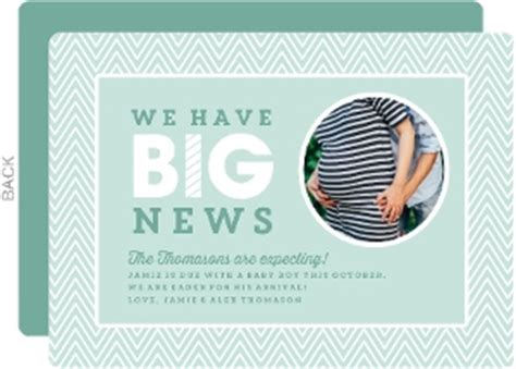 pregnancy announcement card template free free pregnancy announcement templates great free