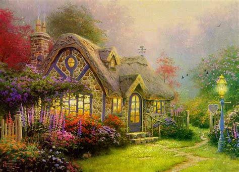 Kinkades Cottage by Painter Ferrebeekeeper