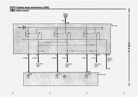 bmw e34 central locking wiring diagram wiring diagram