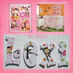 Girls Hand Painted Wooden Nursery Letters By Funky Letter Funky Nursery Decor