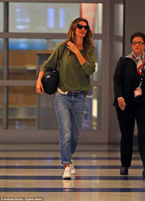 Gisele Does Casual Friday by Gisele Bundchen Embraces A Low Key Look In New York