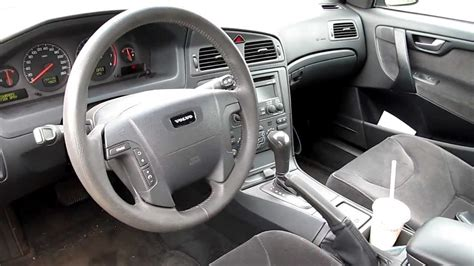 best car repair manuals 2003 volvo xc70 interior lighting volvo v70 s60 xc70 dashboard interior view youtube