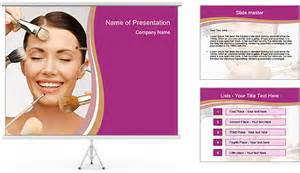 team of makeup artists powerpoint template amp backgrounds
