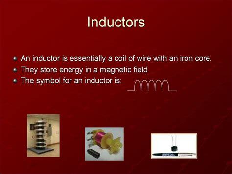inductors store current inductors презентация онлайн