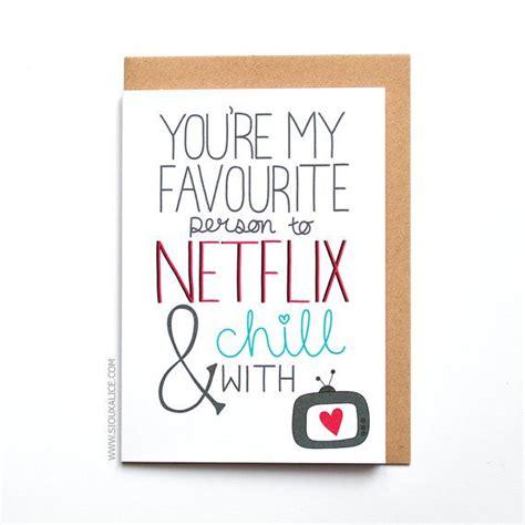 valentines netflix anniversary card valentines day card valentines card