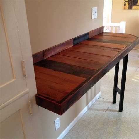 Breakfast Bar Table Reclaimed Wood Breakfast Bar Rustic Indoor Pub And Bistro Tables Other Metro By