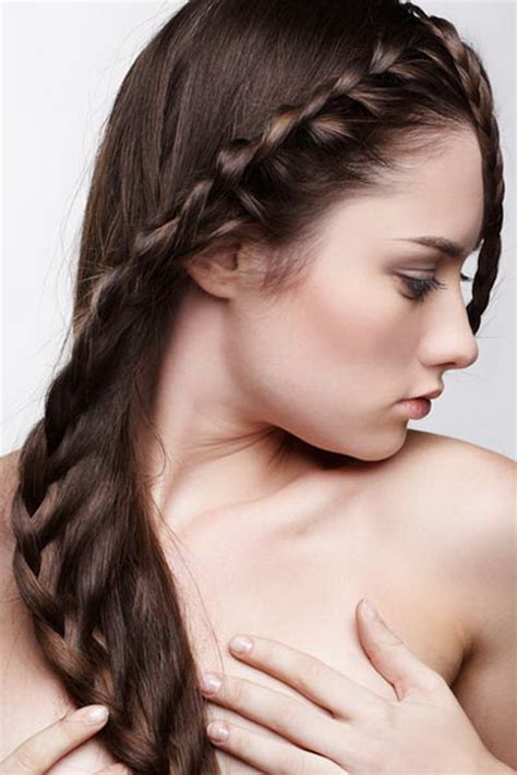 different hairstyles for long hair with braids different braided hairstyles