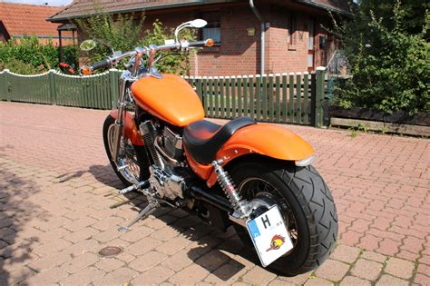 Motorrad Umbau Hannover by Umgebautes Motorrad Suzuki Vs 1400 Glp Intruder Suhrau