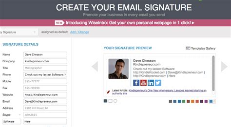 design free email signature wisest email signatures for authors