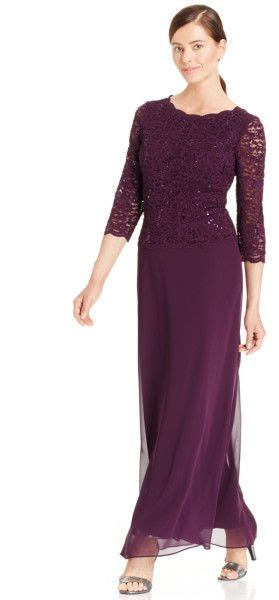 alex evenings side ruched dress plum 240 best alex evenings gowns images on formal
