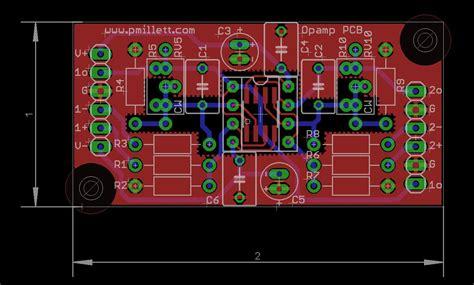 video op layout op experimenter pcb