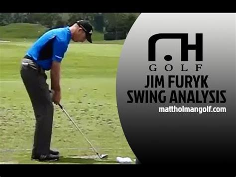 jim furyk swing jim furyk swing analysis youtube