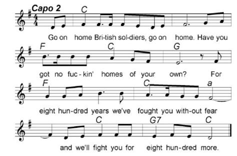 go on home soldiers sheet