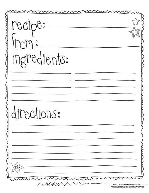 recipe cookbook templates free download oyle kalakaari co