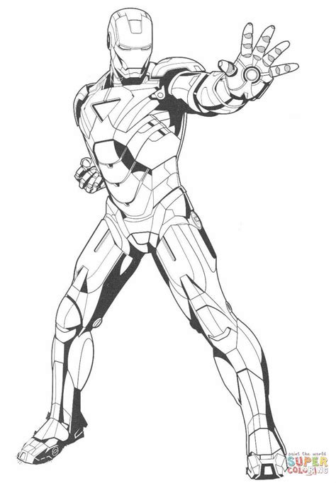 black iron man coloring pages disegno di iron man ferma il nemico da colorare disegni