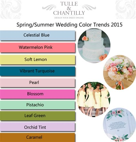 top 10 color trends for spring summer 2015 hot beauty health top 10 spring summer wedding color ideas trends 2015