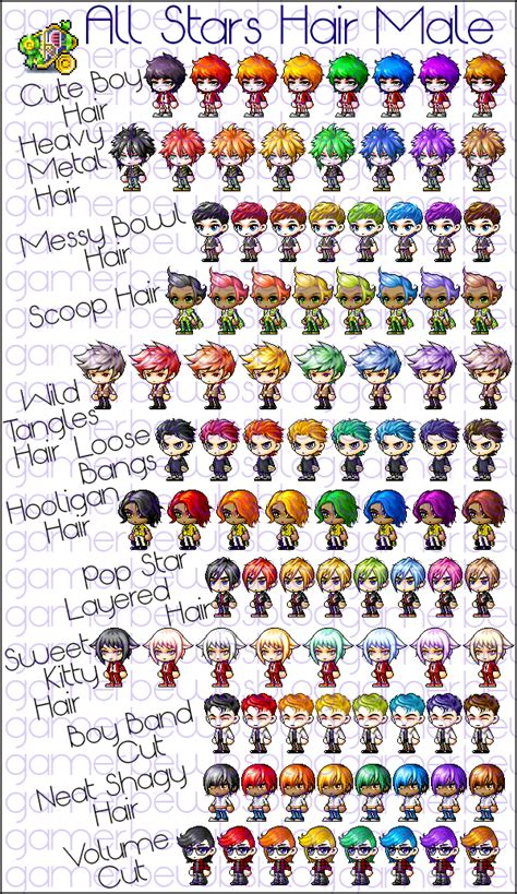maplestory kitty hair maplestory kitty hair in progress all stars hair list
