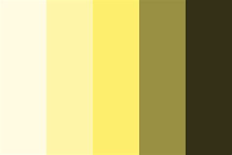 color palette yellow rg yellow color palette