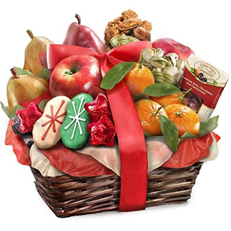 golden state fruit rustic treasures holiday christmas gift basket golden state fruit rustic treasures fruit basket gift 5ive dollar market