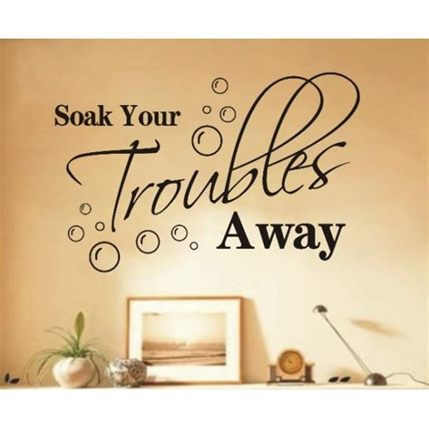 bathroom wall art sayings inspirational wall quotes quotesgram