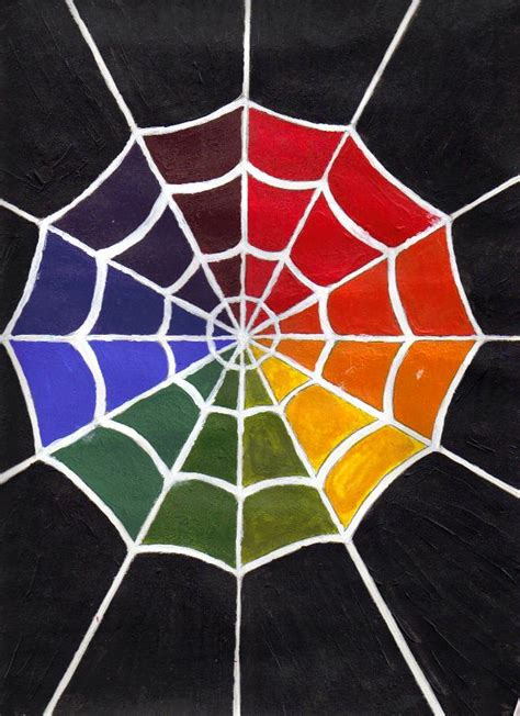 web color wheel spiderweb color wheel by scatandpounce on deviantart